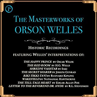 The Masterworks of Orson Welles audiobook cover art