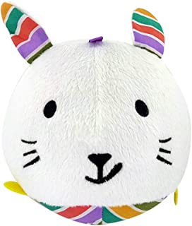 Anniston Kids Toys, Cartoon Animal Rabbit Soft Plush Ball Hand Grasp Rattle Bell Baby Education Toy Baby Toys Perfect Fun ...