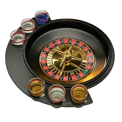 Premier Housewares Roulette Lucky Shot Jeu à Boire