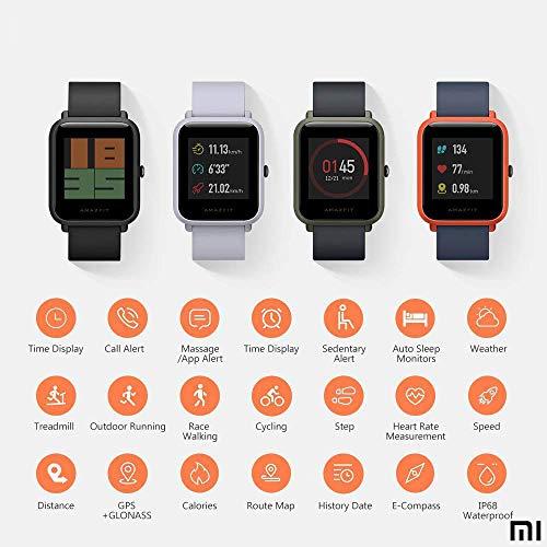 AMAZFIT Bip Xiaomi Smartwatch Monitor de actividad Pulsómetro ...
