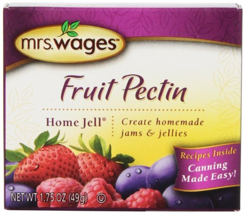 Mrs. Wages Home Jell Fruit Pectin, 1.75-Ounce Pouches (Pack of 12)