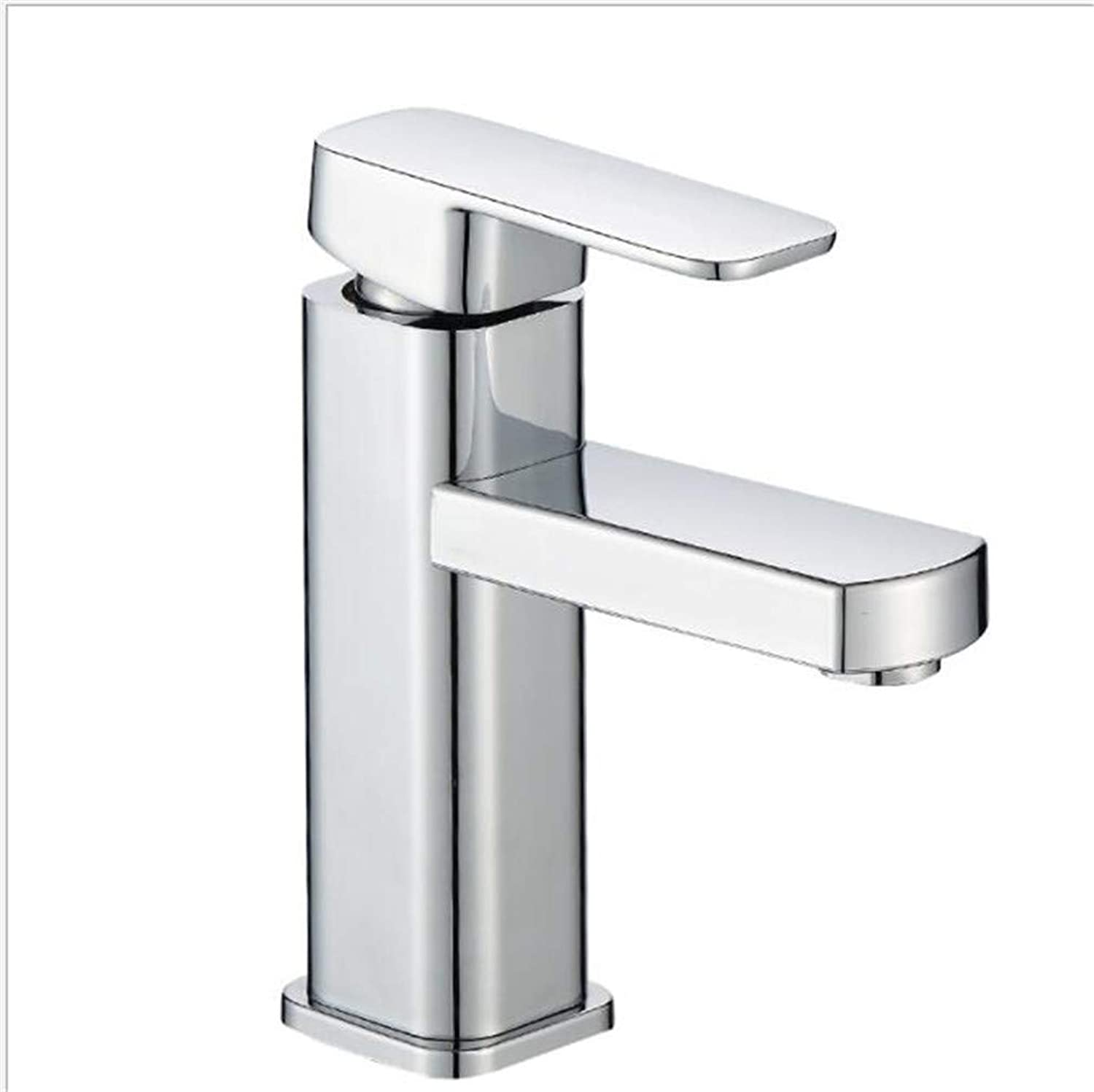 Bathroom Sink Basin Lever Mixer Tap Bathroom Plastic Steel Faucet Cold and Hot Washbasin Sink Faucet