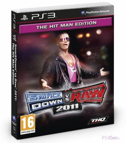 WWE Smackdown VS Raw 2011 - Collector Hitman pack [Importación francesa]