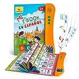 Libro Electrónico de Sonido en Español Juguetes de Aprendizaje para Bebés Niños Máquinas de Lectura para niños 1-5 Años Aprender Idioma con Juegos Juguete Educativo Infantil
