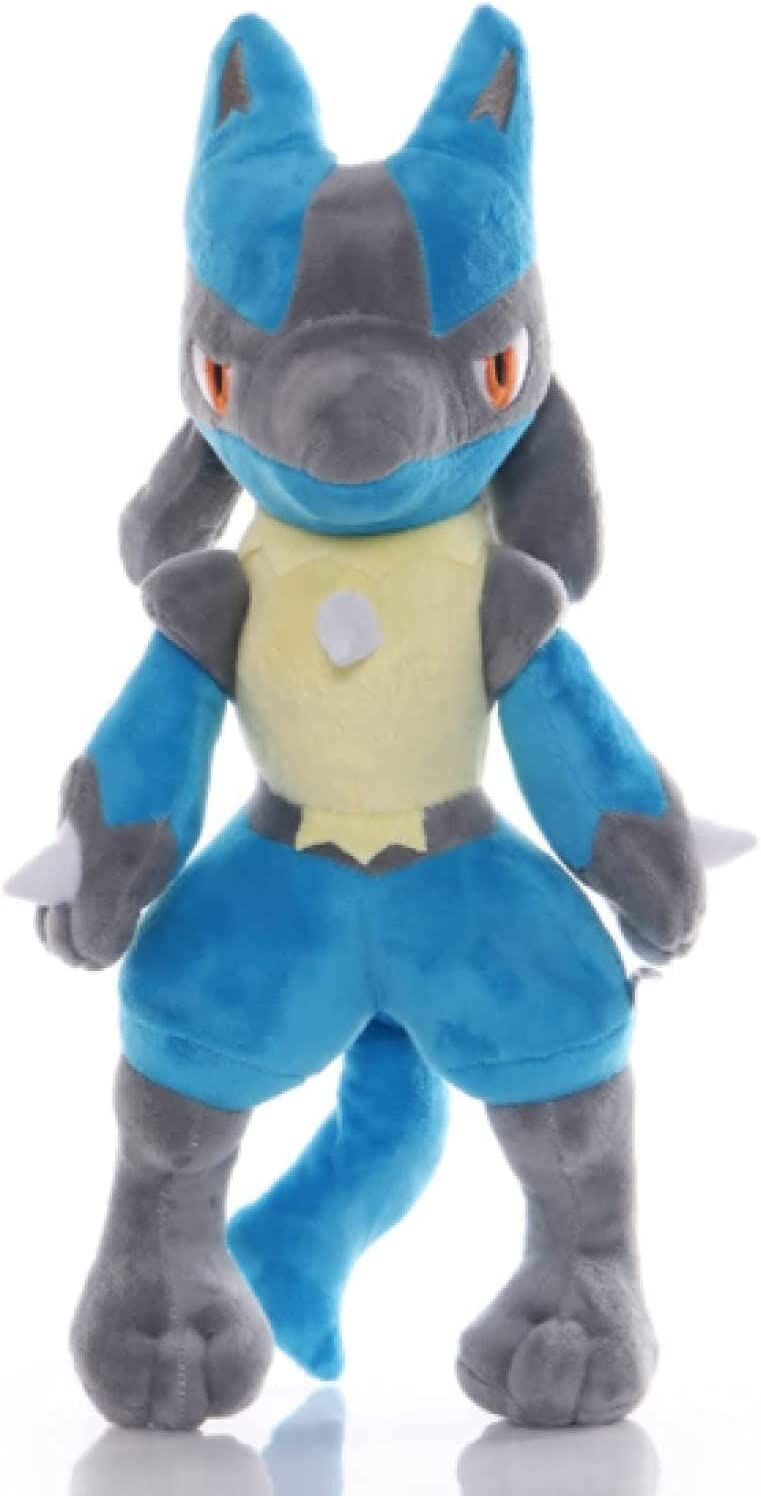 AKwwmy Brand Challenge the lowest price Cheap Sale Venue Beibeiwang Cartoon Animation Figure Toy Plush Lucario So
