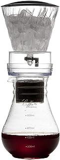 600/800ミリリットルダッチ・コーヒードリッパーコーヒーメーカー、ダッチ・コーヒーコーヒーのための調節可能なアイスドリップガラスDuthコールドドリップコーヒーマシン、2サイズコーヒーコンテナ可能800ミリリットル lsmaa (Size ...