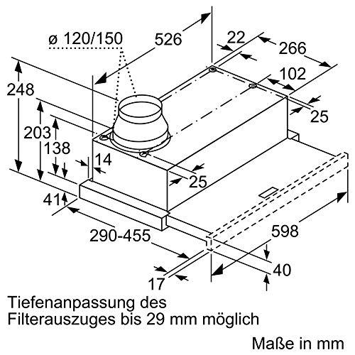 Neff D46ED22X0 Flachschirmhaube - 5