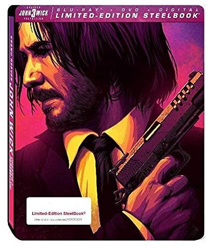 John Wick: Chapter 3 - Parabellum Limited Edition Steelbook (Blu-Ray + DVD + Digital)