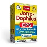 Jarrow Formulas Jarro-Dophilus EPS - 5 Billion Organisms Per Serving - 120 Enteric Coated Veggie Caps - Multi-Strain Probiotic - Intestinal & Immune Health - Up to 120 Servings