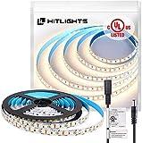 HitLights LED Strip Lights Neutral White, 10ft UL-Listed Premium High Density...