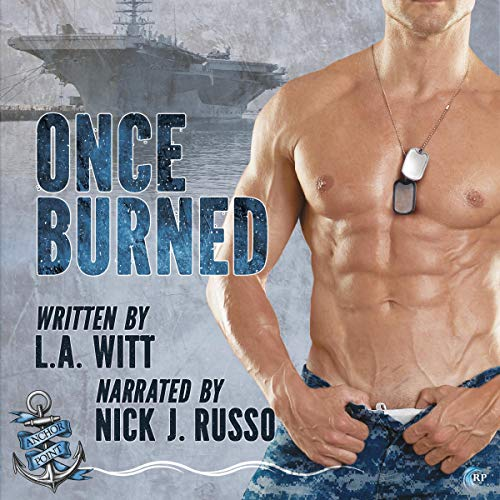 Once Burned audiobook cover art