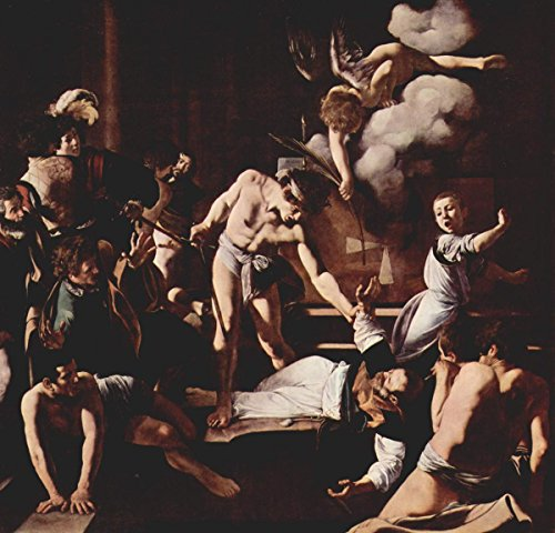 Gifts Delight Laminated 24x24 Poster Michelangelo Caravaggio