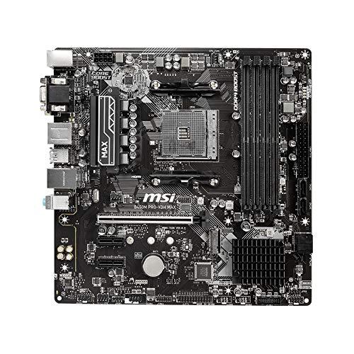 AMD Ryzen 5 3600 4, 2GHz AM4 35MB Cache Wraith Stealth & MSI B450M PRO-VDH MAX AMD AM4 DDR4 m.2 USB 3.2 Gen 2 HDMI Micro-ATX Motherboard