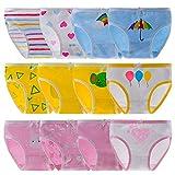 Anntry Niños Paquete de 10-12 Calzoncillos Calzoncillos cómodos y Suaves Ropa...