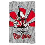 "Time's Up -- Grim Adventures Of Billy & Mandy -- Fleece Throw Blanket (36""x58"")"