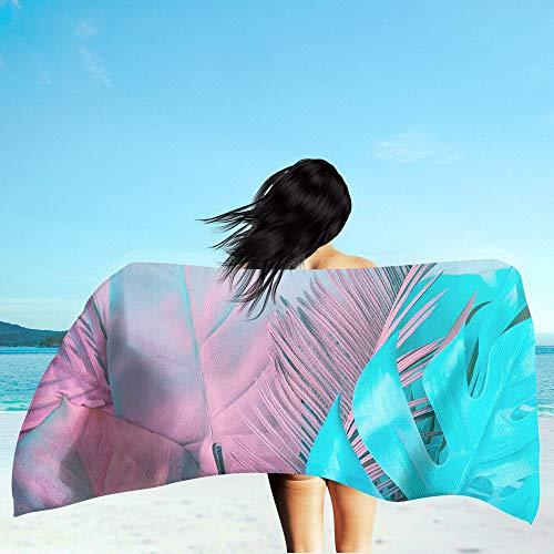 LIZHIOO Toalla De Playa, Verano Personalizada Personalizada Playa Portátil Portátil, Adecuado Para Al Aire Libre Surfing Camping Travel Toalla De Yoga Mat Beach Toalla