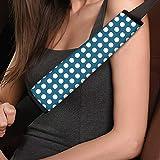 Amzbeauty Fundas para cinturón de seguridad de coche de color sólido...