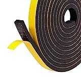 Cinta de gomaespuma para juntas, cinta selladora, cinta de compresión, color negro