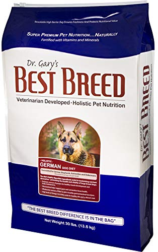 Best Breed German Dog Diet Made in USA [Natural Dry Dog Food]- 30lbs