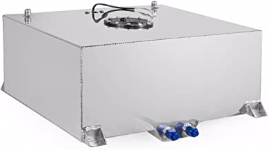 STKUSA 20 Aluminum Gallon Fuel Cell Tank Lightweight Polished Fuel Cell Tank DIY