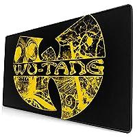 Wu Tang Clan ウータン クラン ラグラン (3)ゲーミングデスクマット ゲーミングマウスパッド キーボードマット Pu デスクパッド 光学式マウス対応 ノートパソコン対応 いマウスパッド オフィス ファッション