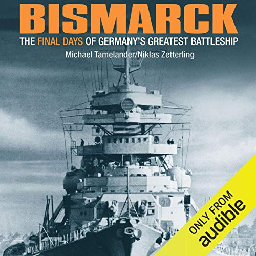 Bismarck audiobook cover art