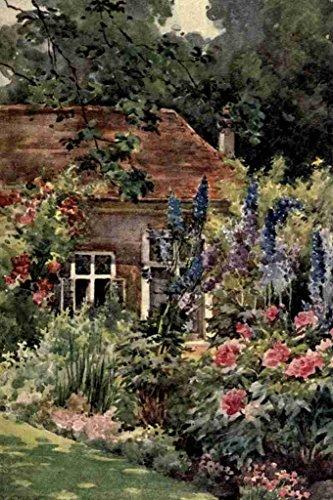 A4 foto Wyatt Katharine Montagu Een boek van Engels Tuinen 1906 De Orangery Ham House Print Poster