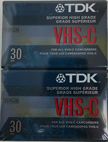 TDK TC-30EHG VHS-C Cassette 2-Pack (Discontinued by Manufacturer)