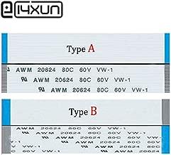 Davitu 5pcs/lot FFC/FPC Flat Flex Ribbon Cable 12Pin 22Pin 32Pin 42Pin Same Side 0.5mm Pitch AWM VW-1 20624 80C 60V Length 15cm - (Color: 22Pin, Package: Type A)