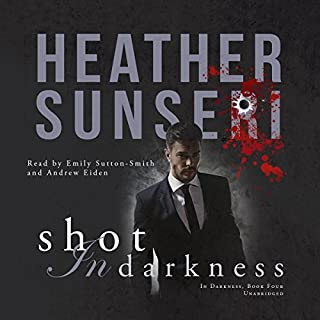 Shot in Darkness audiobook cover art