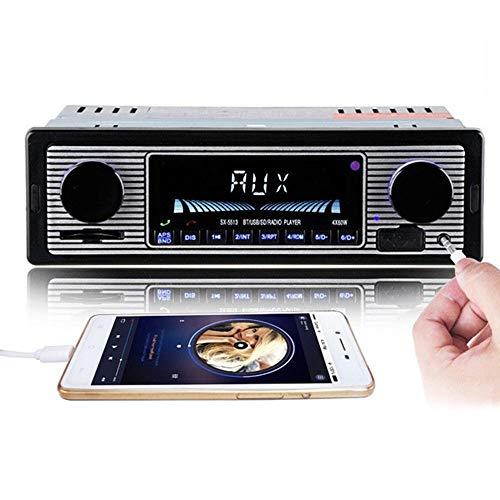 TWH DAB/DAB+ Radio FM digital Bluetooth Reproductor de CD inalámbrico Micro compacto Hi-Fi Sistema de altavoces estéreo - Control remoto - Carga USB y reproducción de MP3