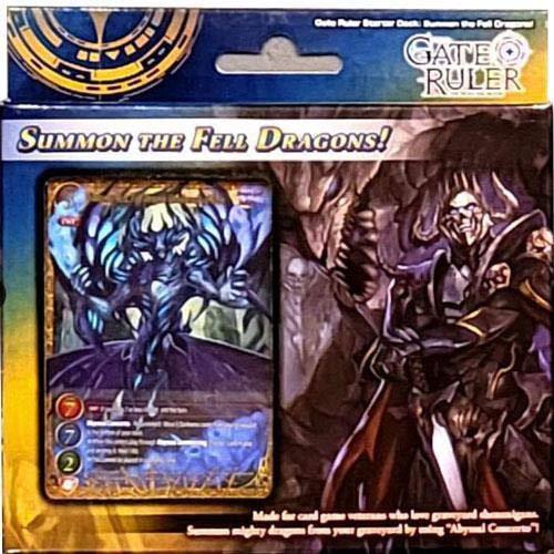 Gate Ruler TCG – Invocar a los dragones caídos – 54 cartas