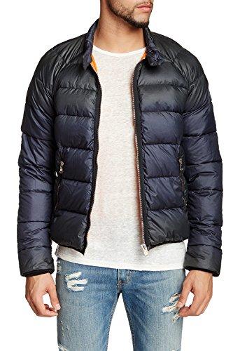 Diesel hochwertige Herren Daunen- Winterjacke W-Neel dunkelblau (2XL)