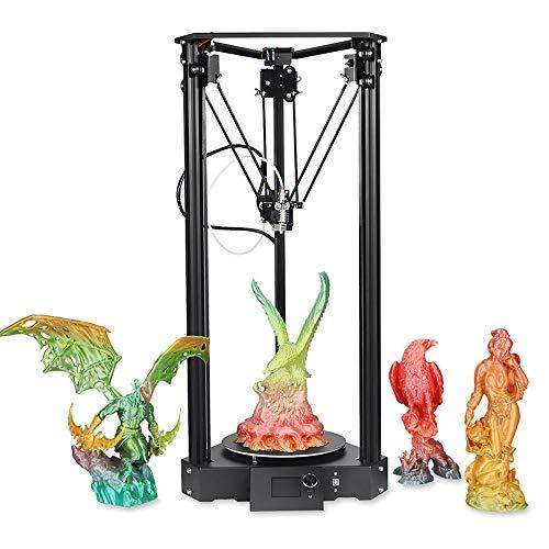 DjfLight Stampante 3D di Alta precisione, Stampa Industriale, Piastra di Costruzione Magnetica aggiornata Riprendi la Mancanza di Alimentazione Stampa Kit Fai da Te Alimentazione Media