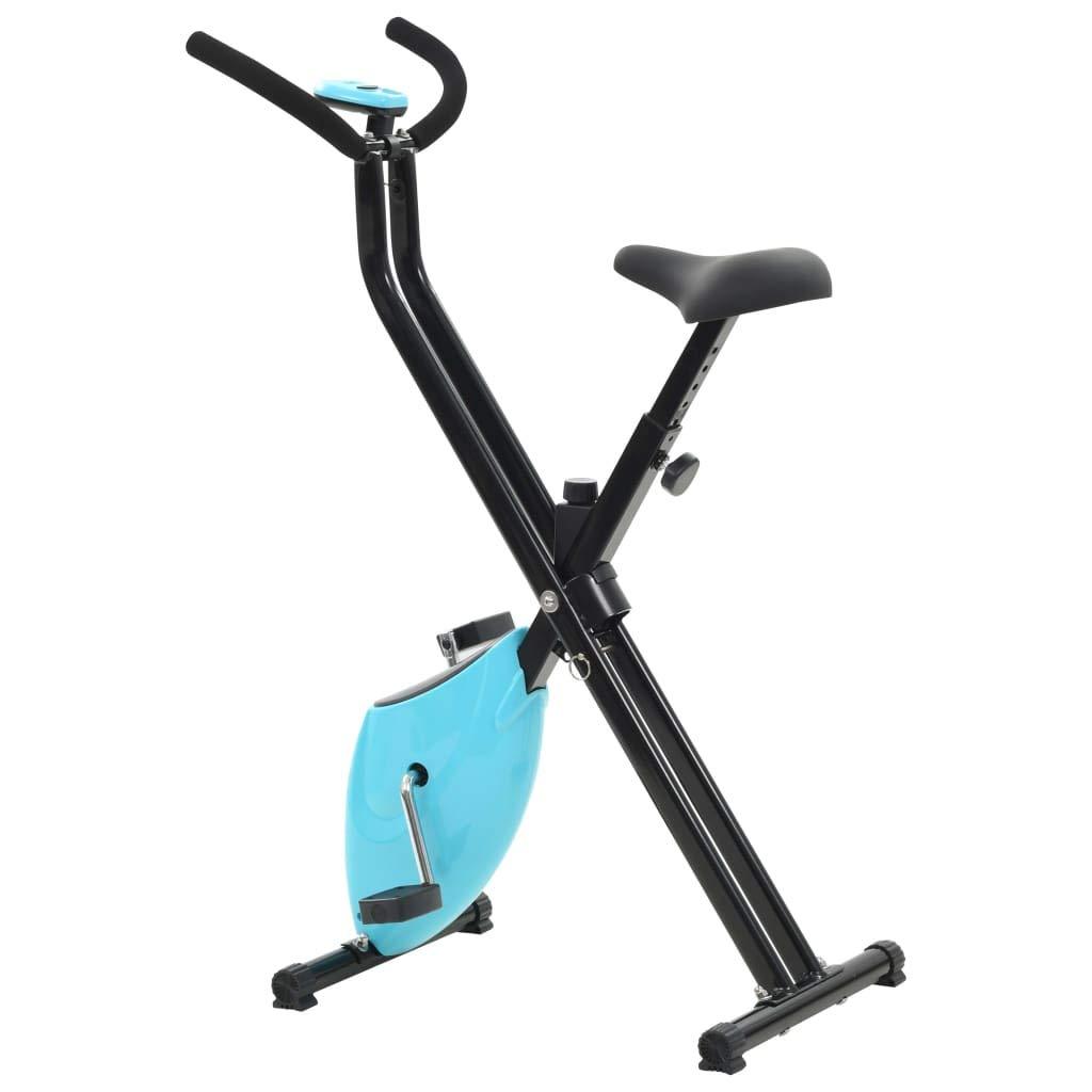 Tidyard Bicicleta estática X-Bike Resistencia de Cinta Azul ...