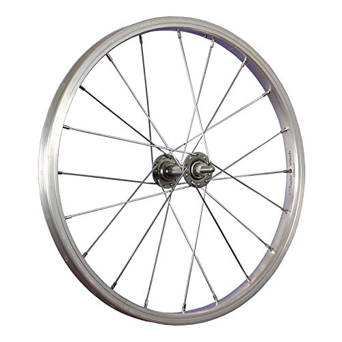 Taylor-Wheels 18 Zoll Vorderrad Büchel Alufelge/Vollachse - Silber