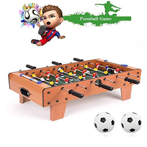 EDAHBJNEST5MK Profi Tischfussball Kickertisch Mini Tischkicker Profi Tischfusball Modell Kicker,20KG umfangreicher Multifunktionsspieltisch Tischkicker-Multifunktionstisch für die ganze Familie