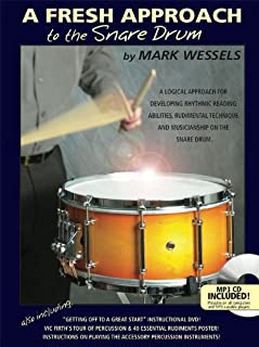 mark wessels fresh approach snare drum