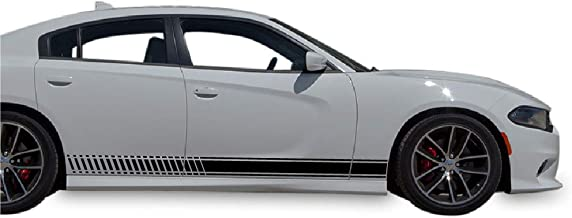 Best charger side stripes Reviews