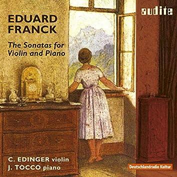 Eduard Franck: Sonatas for Violin & Piano