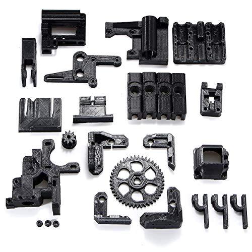 ZLININ Y-longair Kit d'accessoires pour imprimante 3D RepRap Prusa i3 Noir Filament ABS Noir
