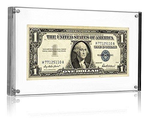 dollar bill display case - 1