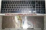Tastiera Italiana Retroilluminata Antracite per Notebook Sony Vaio SVE1512X1ESI