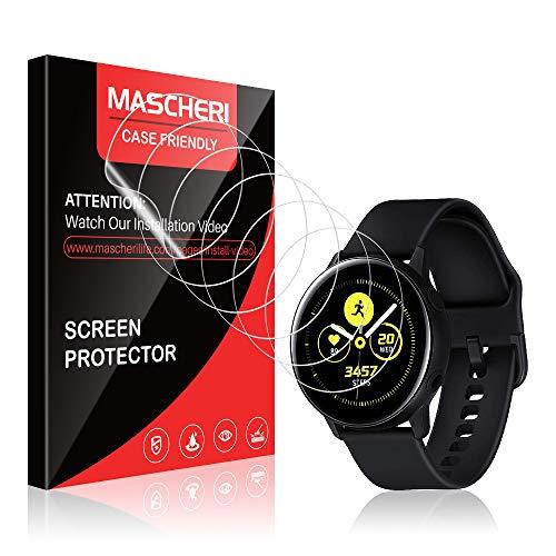 MASCHERI Schutzfolie Für Samsung Galaxy Watch Active 2 (40mm) / Samsung Galaxy Watch Active Schutzfolie, [6 Stück] [TPU-Folie] [kein Glas] HD Soft Displayschutz Displayschutzfolie Display Folie
