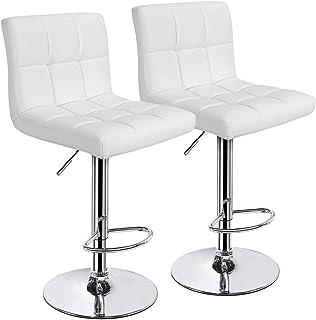Amazon.com: White - Barstools / Home Bar Furniture: Home ...