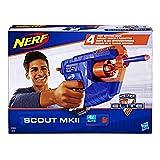 Hasbro- Nerf Elite Scout MKII, Multicolore, E0824EU4