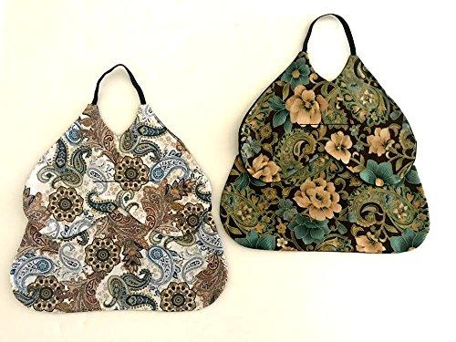 Standard Size Chicken Saddles Hen Aprons (Shoulder Wing Protection Set of (2) Grab Bag Patterns Vary)