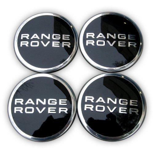 Land Rover X4–Centro de Rueda Caps Negro Range Rover Evoque, Fabricado en Italia