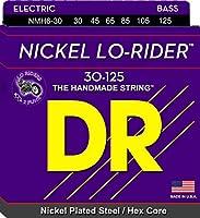DR弦NMH630 30-125ミディアムセットハンドメイドローライダーコーティング6弦ベース弦