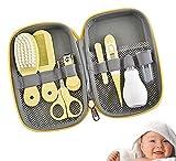 Accesorios para el Cuidado del Bebé, kit de Cuidado del Bebé de 8 Piezas, Kit de Cuidado de la Salud del Bebé, Artículos Esenciales para el Cuidado del Bebé para Viajes y uso Doméstico